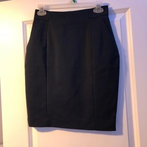 H&M navy dress skirt size 6 with tags
